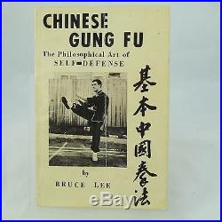 Chinese Gung Fu- signed first edition 1963 by Bruce Lee Extremely rare