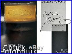 Chuck PalahniukSIGNED IN PERSONFight Club1st Edition + Photos