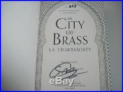 City of Brass S. A. Chakraborty Signed limited 1st edition with blue edges