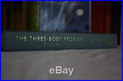 Cixin Liu,'The Three-Body Problem', SIGNED US first edition 1st/1st Tor, Hugo