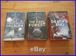 Cixin Liu'The Three-body Problem' COMPLETE TRILOGY Signed HB First Editions
