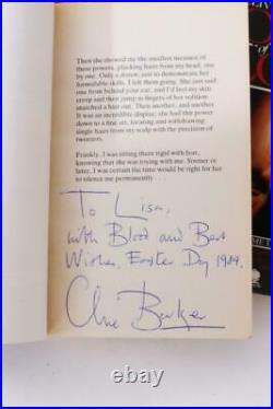 Clive Barker Books of Blood, Lisa Tuttle's Set Signed First Edition