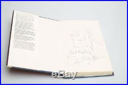 Clive Barker Cabal 1st Edition signed with sketch drawing