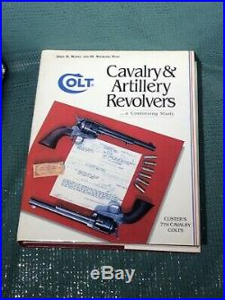 Colt Cavalry & Artillery Revolvers by Kopec, 1st edition, signed by author