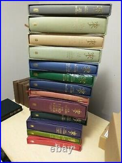 Complete Tolkien Deluxe Slipcase Set 1st Printings 1st Editions, Signed Limited