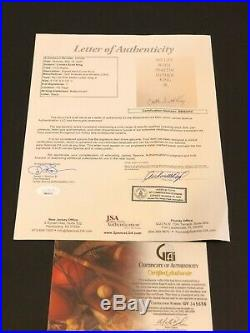 Coretta Scott King Civil Rights Leader Signed Autograph 1st Edition Book JSA COA