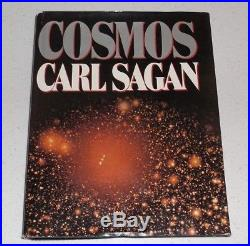Cosmos SIGNED FIRST EDITION Carl Sagan