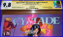 Cyblade/Shi #1 Special Edition CGC SS 9.8 SIGNED Silvestri Tucci 1st Witchblade