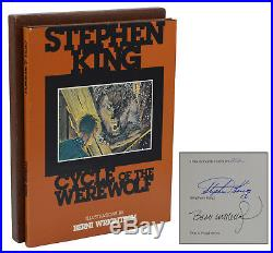 Cycle of the Werewolf STEPHEN KING Signed Limited First Edition 1st 1983