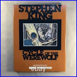Cycle of the Werewolf by Stephen King (Signed, Limited First Edition, Hardcover)