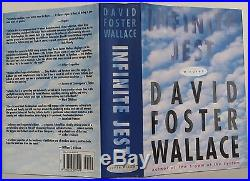 DAVID FOSTER WALLACE Infinite Jest A Novel SIGNED FIRST EDITION