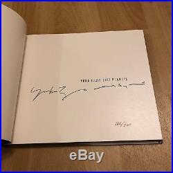 DAVID SYLVIAN / YUKA FUJI Like Planets First Edition Book SIGNED