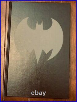 DC Comics Hc Batman The Dark Knight 1st Edition A/p Signed By Frank Miller Rare