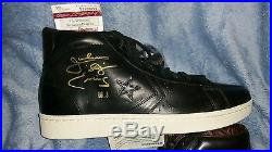 DR J signed converse first string limited edition