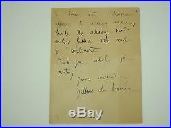 Daphne Du Maurier Rebecca First UK Edition 1938 + Signed + Letter Gollancz