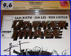 Darker Image #1 B&W Variant CGC SS 9.6 SIGNED Sam Kieth 1st Maxx appearance Foil