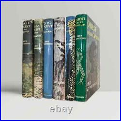 David Attenborough Signed Complete Zoo Quest Series First Edition Books