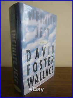 David Foster Wallace,'Infinite Jest' SIGNED true first edition 1st/1st