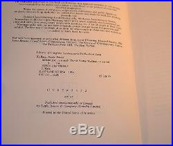 David Foster Wallace SIGNED & Inscribed Infinite Jest First Edition
