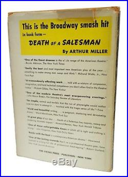 Death of a Salesman Signed First Edition Arthur Miller 1st Printing