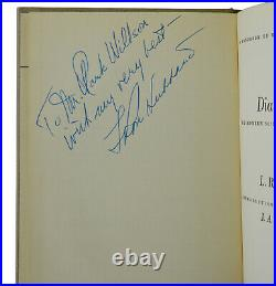 Dianetics SIGNED by L. RON HUBBARD First Edition 5th Printing 1950 Autographed