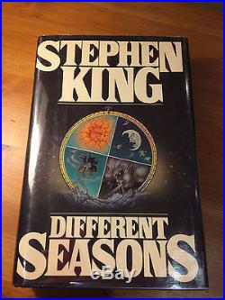 Different Seasons, Stephen King. Signed First Edition