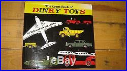 Dinky Great Book Of Dinky Toys Rare First Edition 2000 Rare Signed By Authors