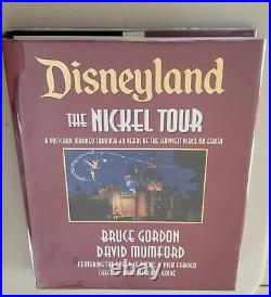 Disneyland The Nickel Tour Book 1st Edition Signed Bruce Gordon & David Mumford