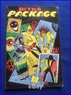 Ditko Package First Edition Signed By Graphic Artist Steve Ditko