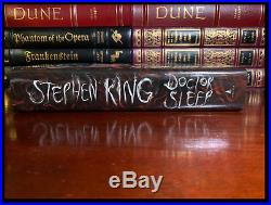 Doctor Sleep SIGNED by STEPHEN KING Mint Hardback 1st Edition First Printing