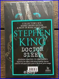 Doctor sleep Stephen King Signed Limited First Edition