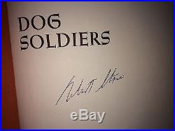 Dog Soldiers By Robert Stone Signedfirst Edition