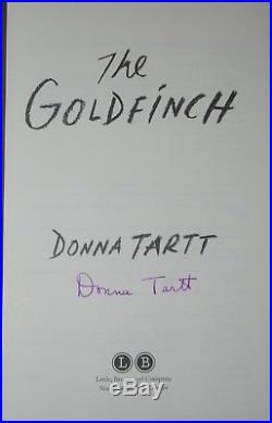 Donna Tartt / The Goldfinch / SIGNED First/1st Edition Indiespensable Slipcase