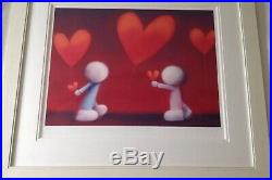 Doug Hyde Signed limited edition Print love At First Sight Shabby Chic Frame