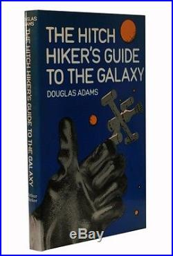 Douglas Adams The Hitch Hiker's Guide to the Galaxy UK Signed First Edition