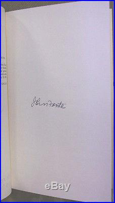 Dreams from Bunker Hill by John Fante-Signed/Numbered First Edition-1982