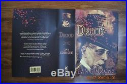 Drood Dan Simmons Signed Limited 1st Edition # 315 of 500 S & N Copies