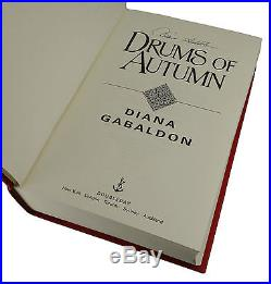 Drums of Autumn SIGNED by DIANA GABALDON First Edition 1st Print Outlander