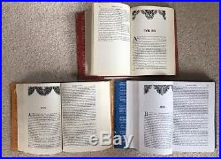 Dual Signed A Game of Thrones 1st First Edition 3 book set UK Voyager RARE