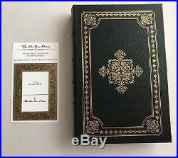 EASTON PRESS John McCain FAITH OF MY FATHERS SIGNED FIRST EDITION Leather #15