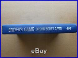 ENDER'S GAME Orson Scott Card SIGNED 1st edition 1985 vfine unread condition
