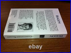ERAGON by CHRISTOPHER PAOLINI 1ST EDITION SIGNED