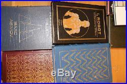 Easton Press 100 Signed First Editions Sci Fi Huge Lot Set Auto Science Fiction