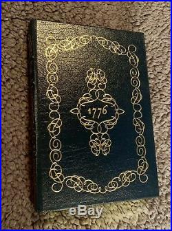 Easton Press, 1776, SIGNED First Edition, David McCullough, COA, Leather NEW