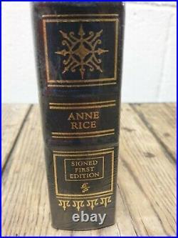 Easton Press PRINCE LESTAT & THE REALMS OF ATLANTIS Ann Rice SIGNED 1st Edition