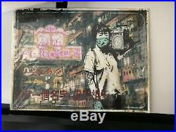 Eddie Colla Radio Yau Ma Tei Red Edition First 1xrun Release Banksy