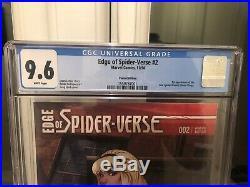 Edge Of Spider-Verse #2 Land Variant 1st App CGC 9.6
