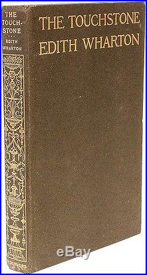 Edith WHARTON The Touchstone FIRST EDITION SIGNED BY WHARTON