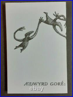 Edward Gorey / Figbash Acrobate Limited Signed 1st Edition 1994