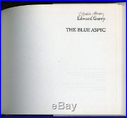 Edward Gorey, The Blue Aspic (der Traurige Zwolfpunder), First Edition, Signed